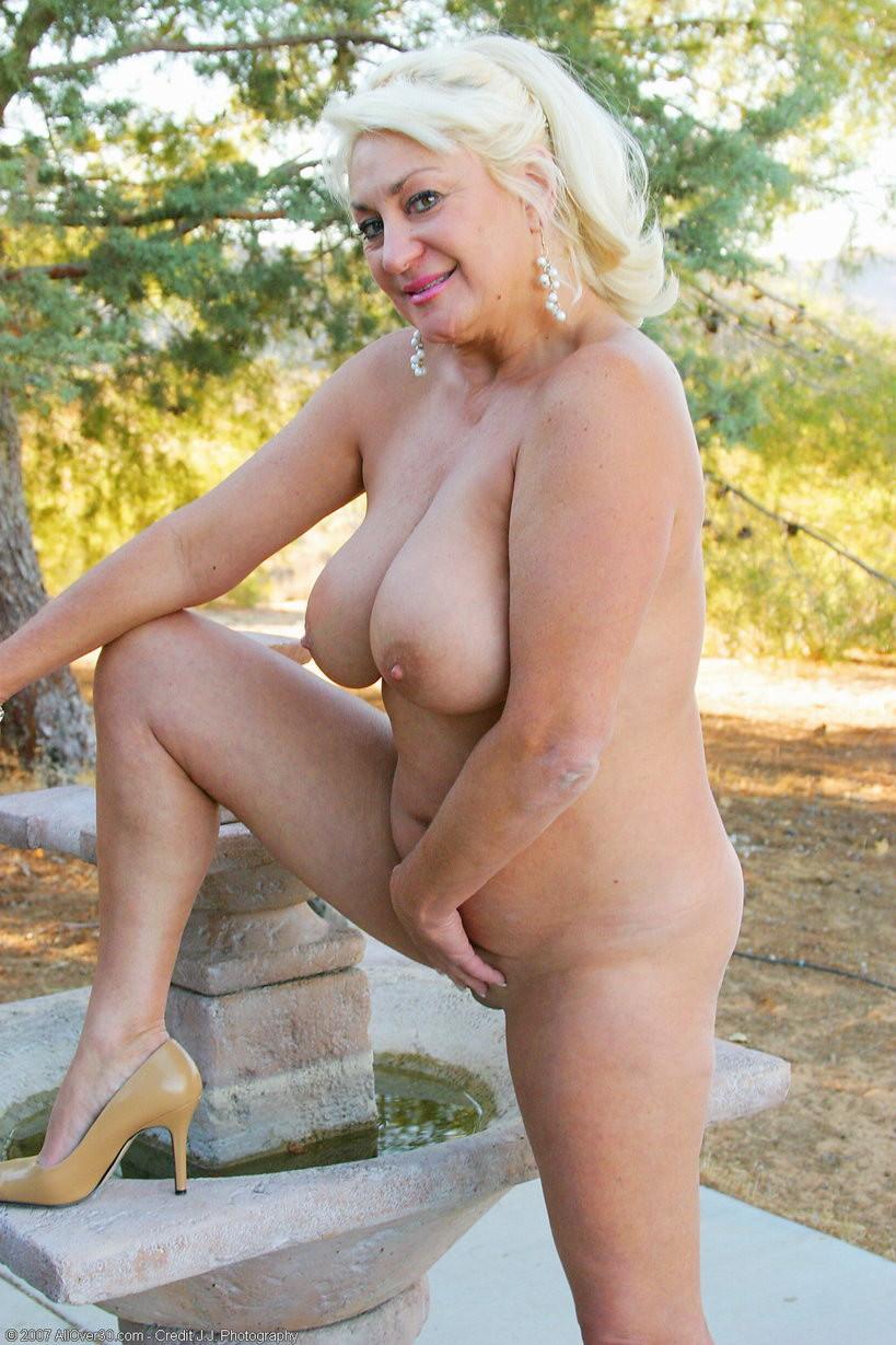Granny nudists