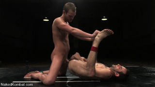Two hot studs go balls to the wall fighting for se
