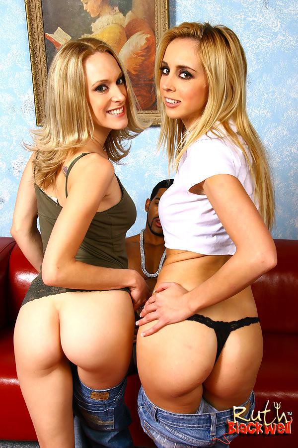 Aleksa Nicole Anal Threesome