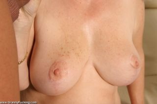 Big titted granny gets fucked