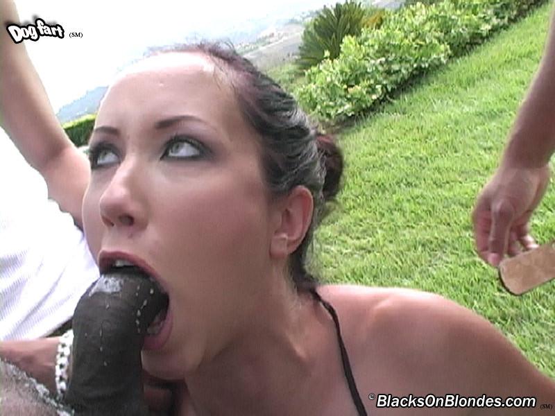 Skinny girl fucked in ass