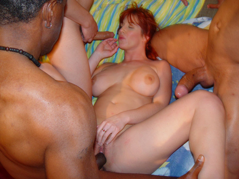 woman home alone nude