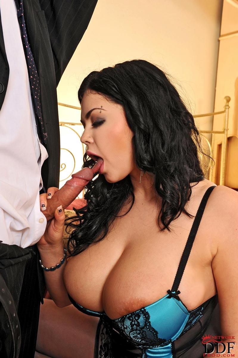 Big Tit Blonde Pornstar Solo