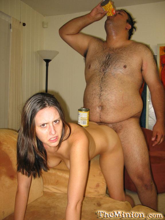 Ashley Jordan gets banged by a very fat Dude