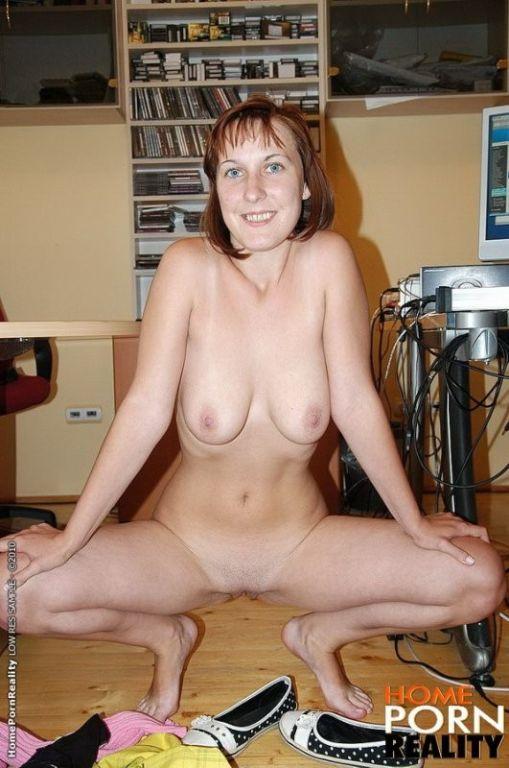 Amateur housewife sucks and fucks her horny husban