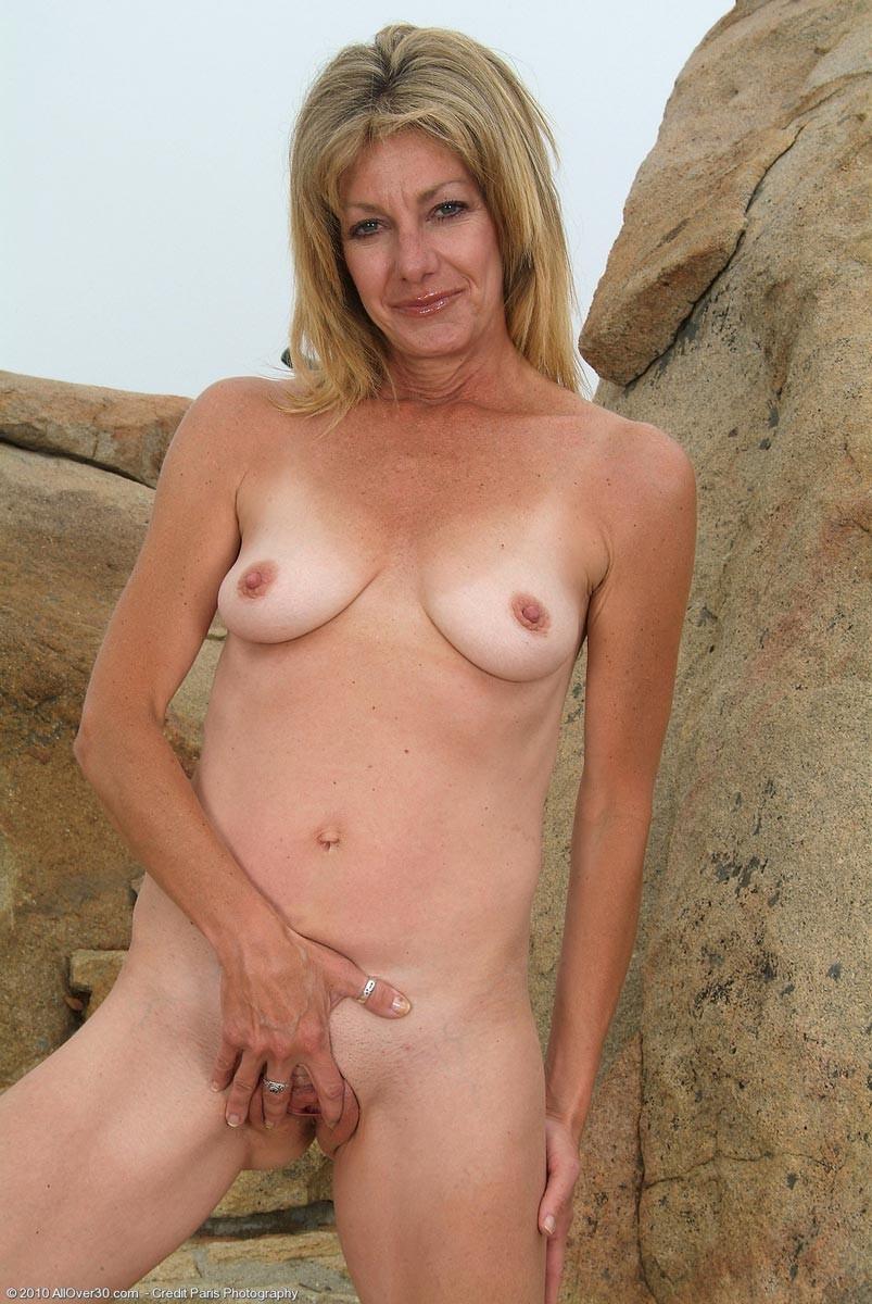 Mature undressed