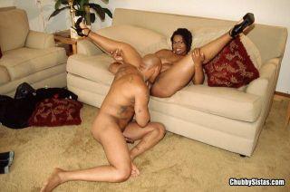 Huge ass ebony sista takes cock