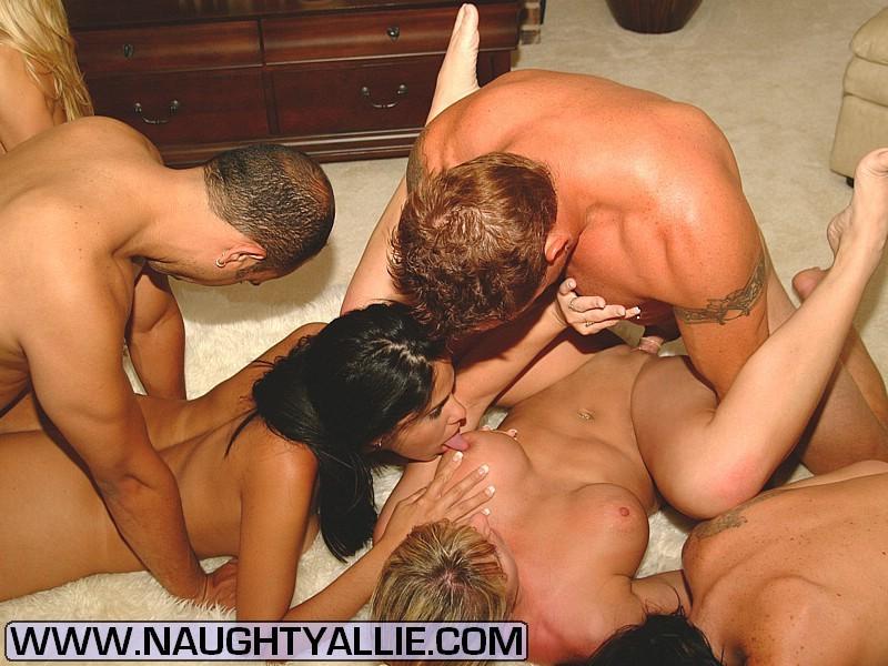Amateur Wife Interracial Orgy