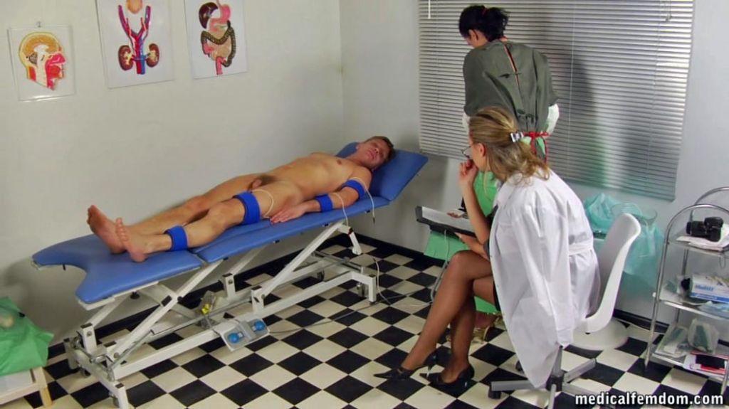 Shocking medical procedures at a femdom hospital