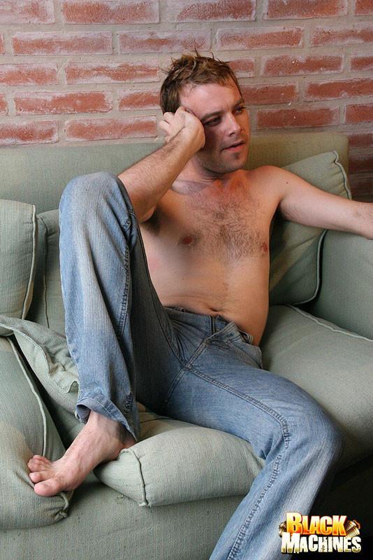 White guy fucks and sucks black cock in orgy