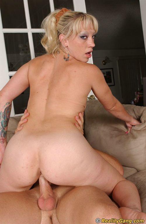 Flexible Blonde Contortionist Bends Over Backwards