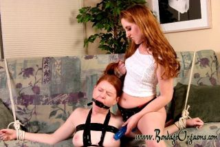 Ariana gets lesbian BDSM with severe Mistress Nata