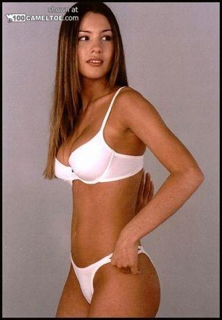 Carolina Pampita Ardohain lingerie cameltoe