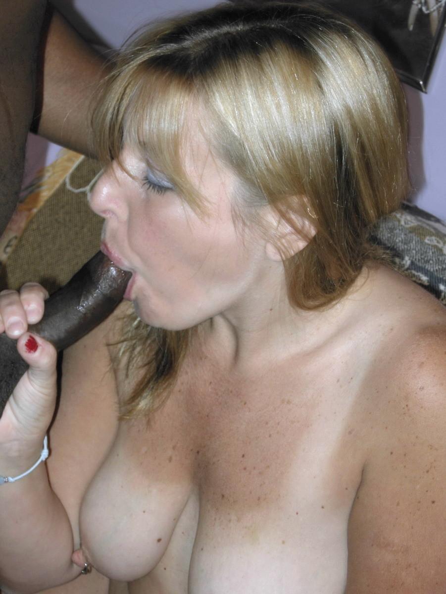Mature Blonde Swinger Liisa Is Sucking Three-some