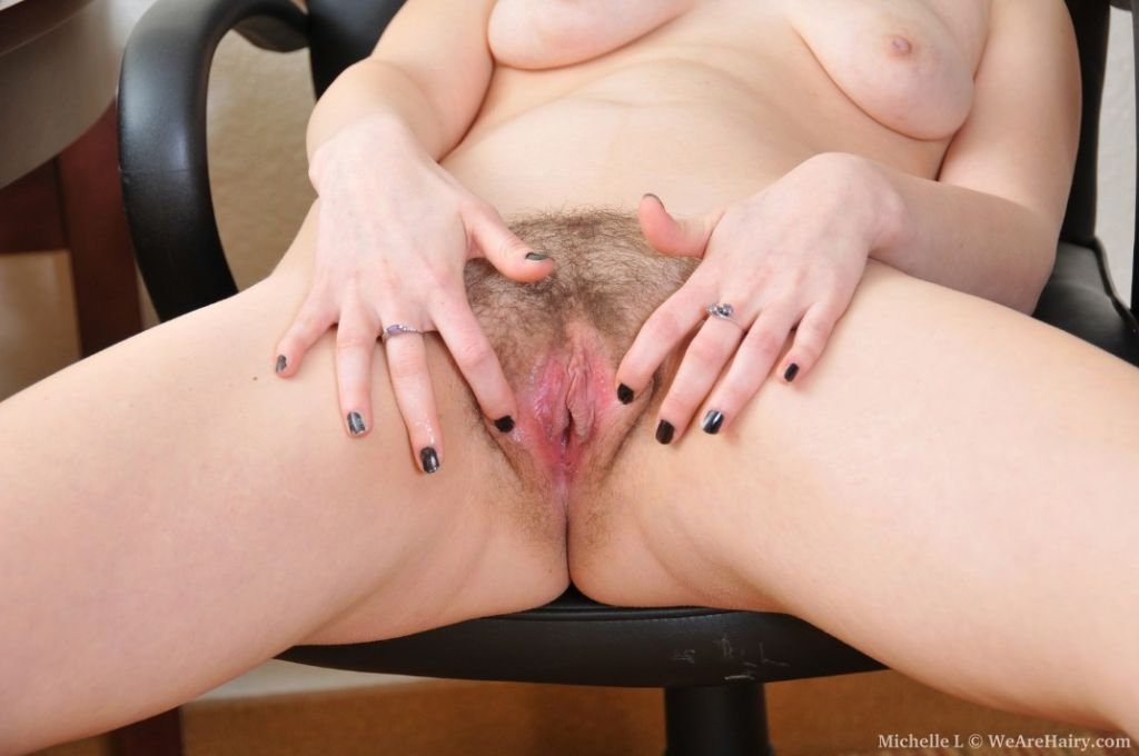 Really hairy pussy on this amateur girl