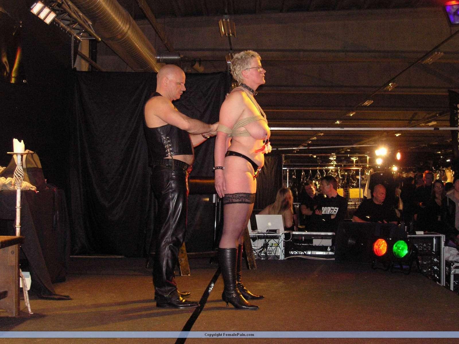 blonde amateur slavegirls public bdsm and kinky fetish