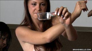 Brandi Belle examines guys and makes them cum