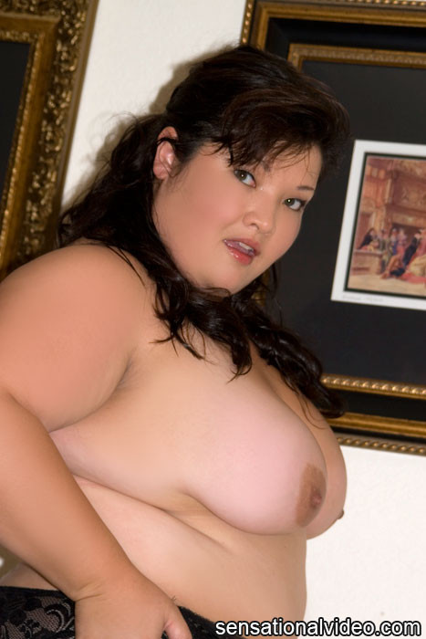 Shibari Sex - Asian BBW Gets Naked for the Camera - Pichunter