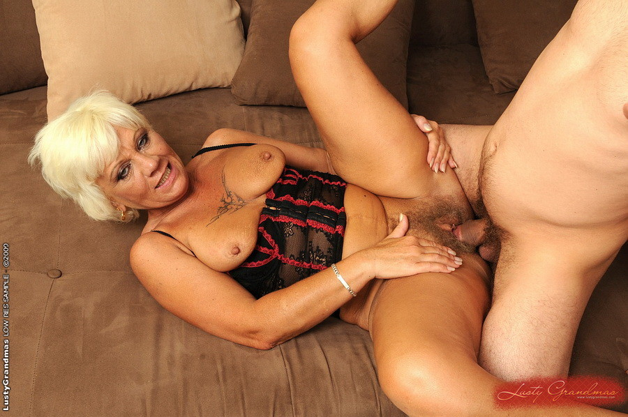 Hot Blonde Fucked Couch