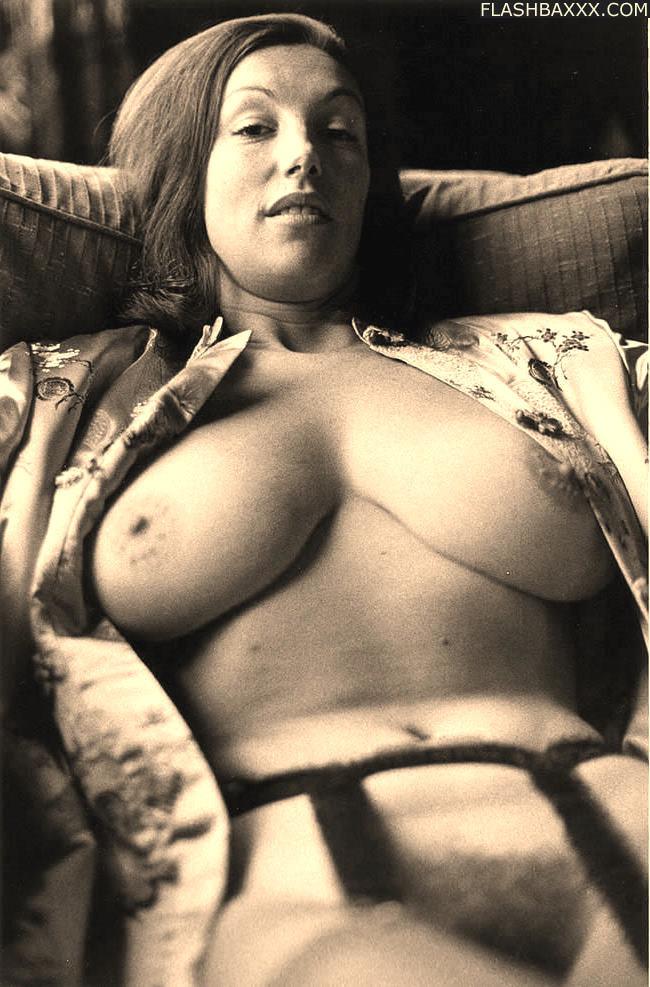 Vintage big natural tits