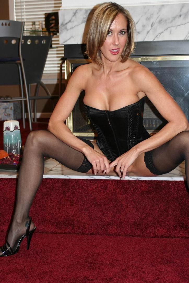 stockings black Brandi love