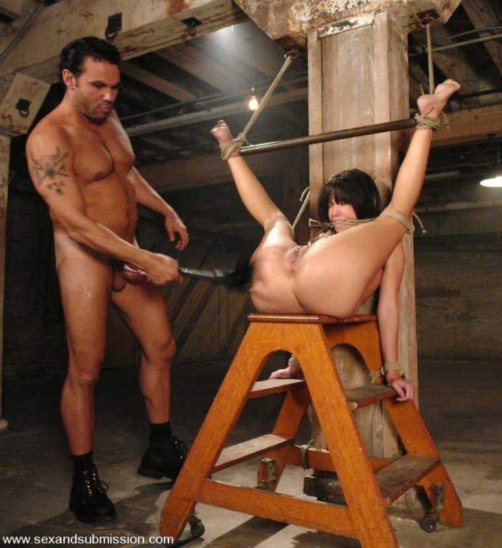 Roxy DeVille gets bondage experience and fucked ha