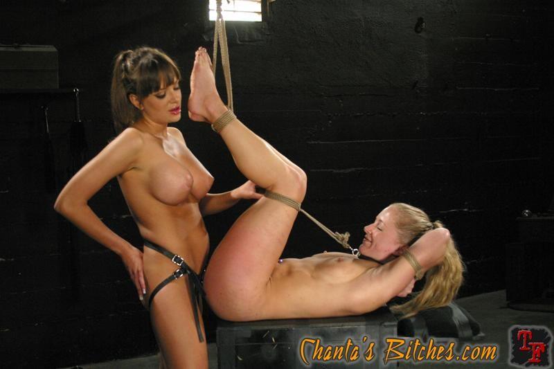 Lesbian Bondage Machine Orgasm