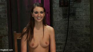 Katie Jordin endures nipple torture and brutal cro