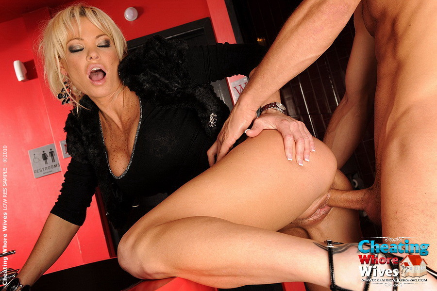 Blonde Massage Table Blowjob