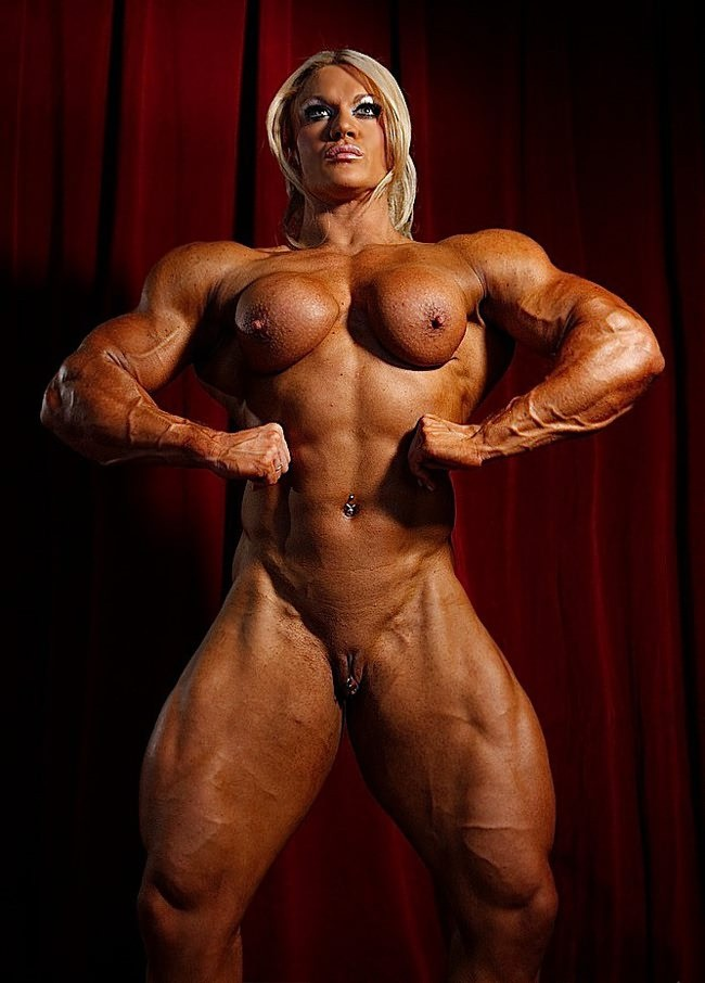 Naked bodybuilder women