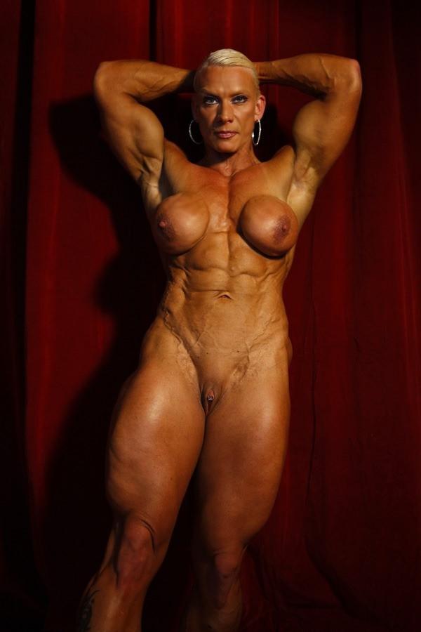 Body builder women nude