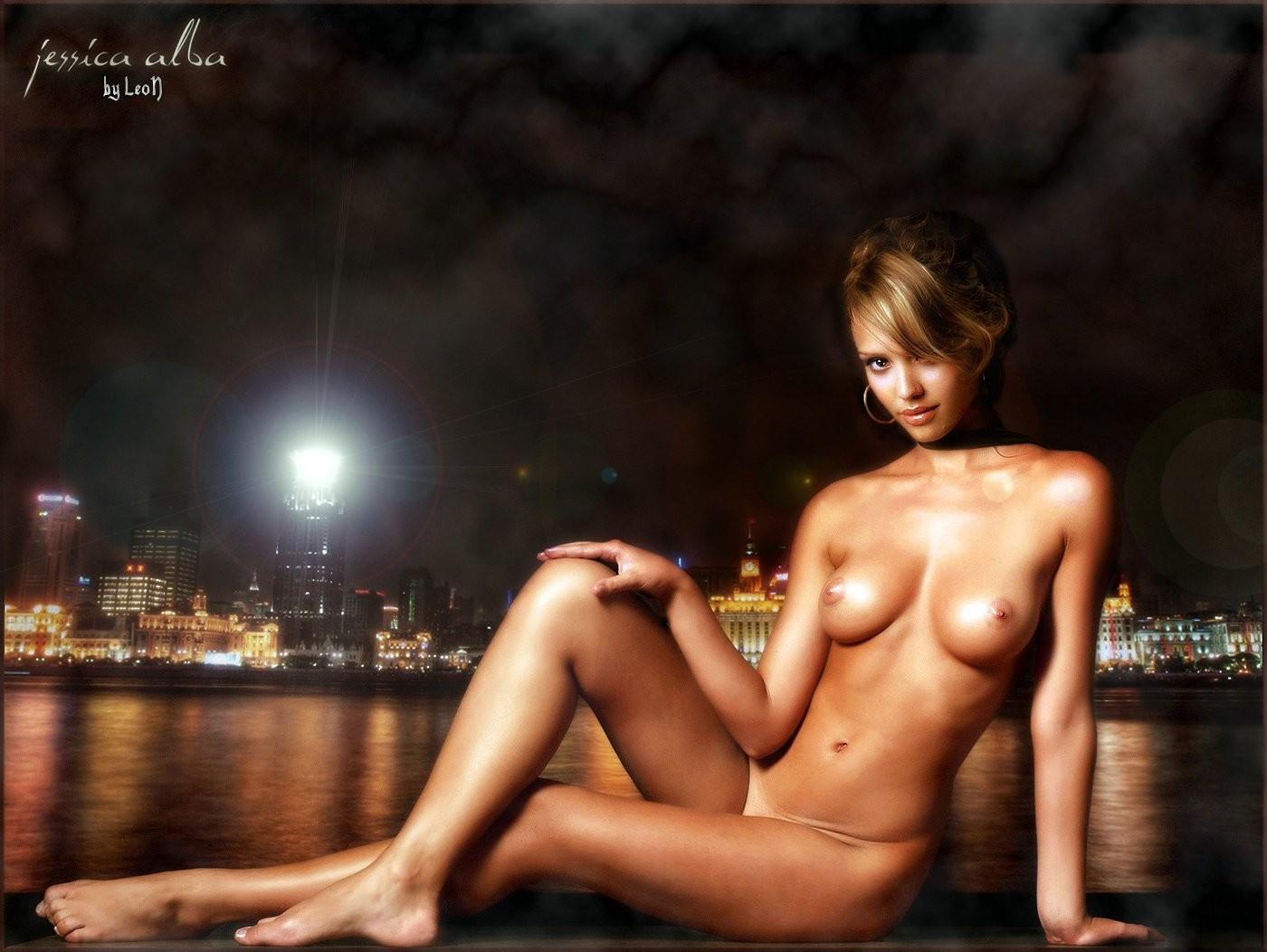 Were Jessica alba naked dildo