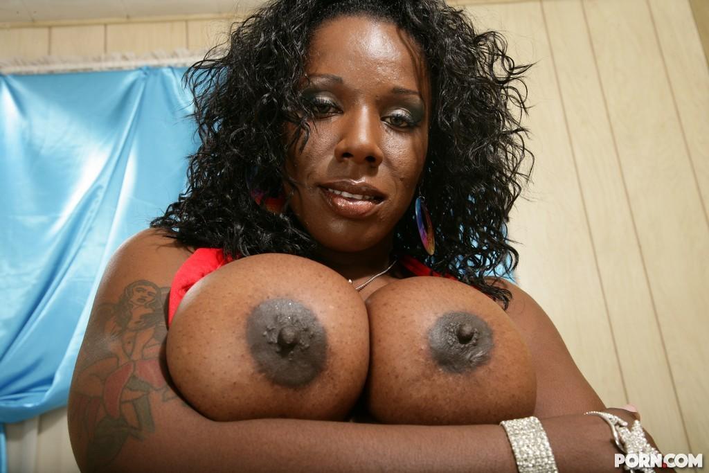 Ebony Threesome Anal Creampie
