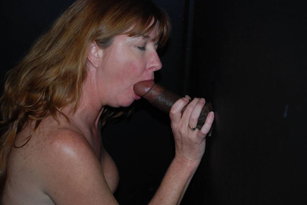 Dee is a glory hole cock slut