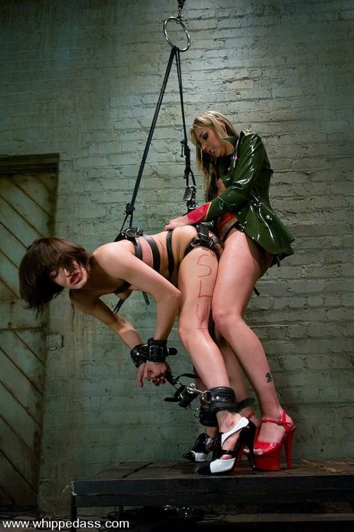 Subgirl Ryan Keely bound and fucked by Mistress De