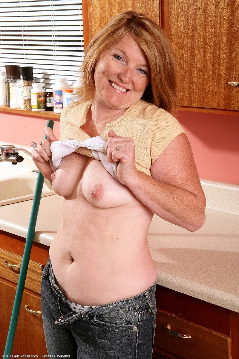 Curvy Housewife Mature