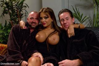 Nika Noire big tits femdom cuckolds bound husband