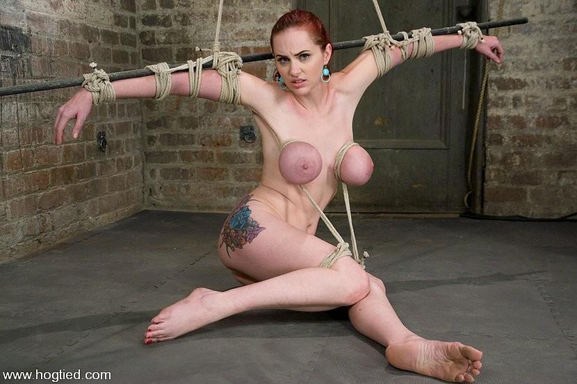 Redhead bondage Nude