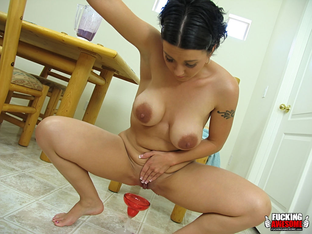remarkable, asian model pokes her pussy with a huge dildo confirm. join told