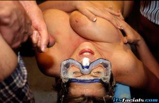 The big woman Lisa Sparxxx in facials sex
