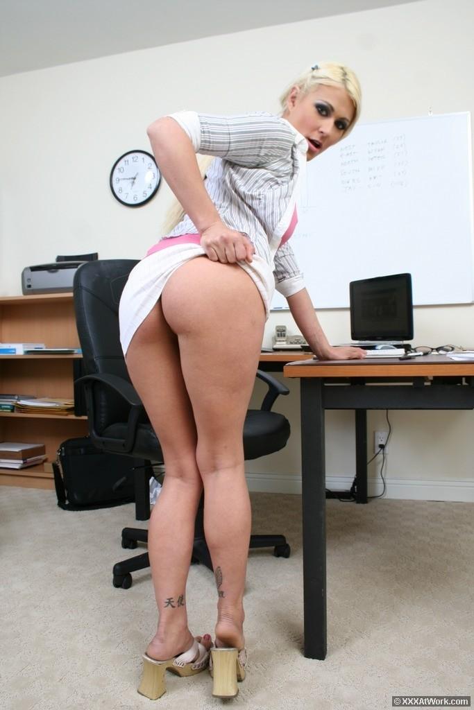 Ass nude secretary Sexy