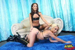 sex Adriana Deville gangbangs -anal lick fest