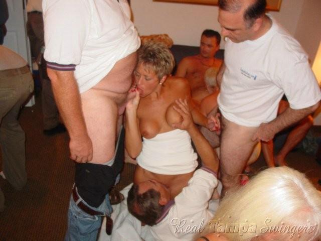Totally naked girls in group pf men porn pics