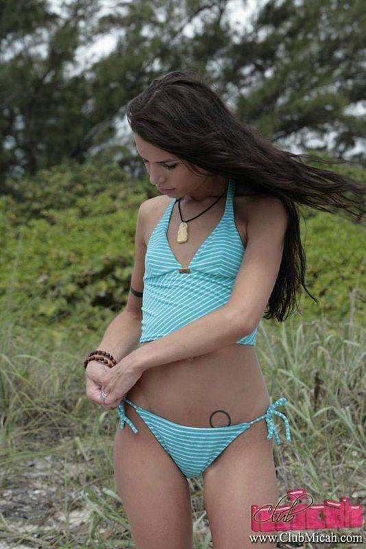 Share nude skinny ass bikini