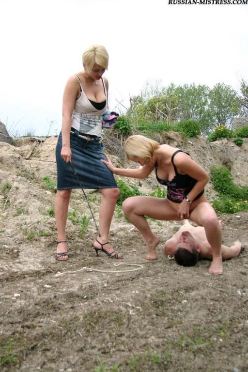 Wild countryside trample and pee outdoor picture g