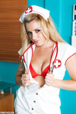 Nurse Lexi Belle Treats A Patient With Hardcore Se