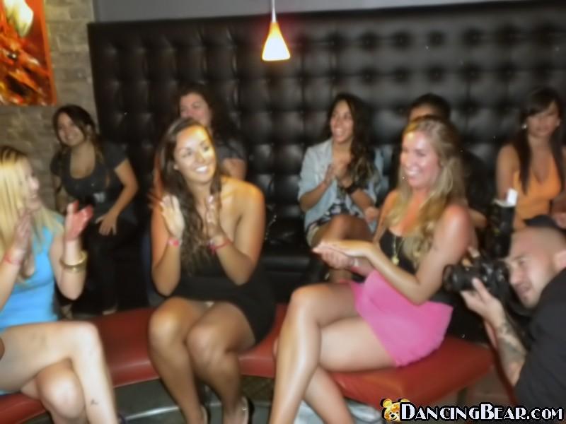 Slutty girls strip dancing