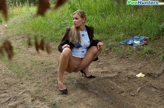 Necessary girls peeing their thongs