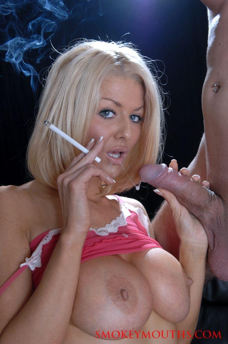Mature Smoking Fetish Bj