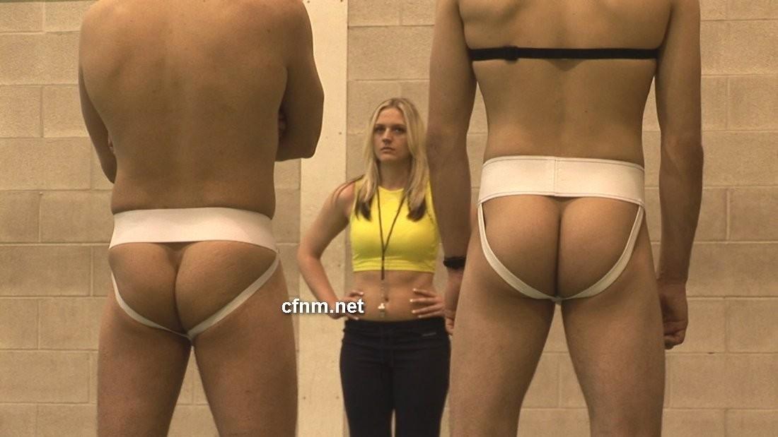 Cfnm naked women female athletes